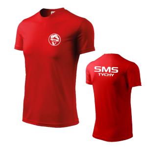 Koszulka treningowa uczniow Szkoly Mistrzostwa Sportowego Tychy