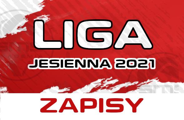 Grafika Liga Jesienna 2021 Zapisy w SMS Arenie Tychy